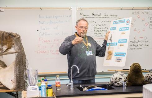 Raymond Teaching