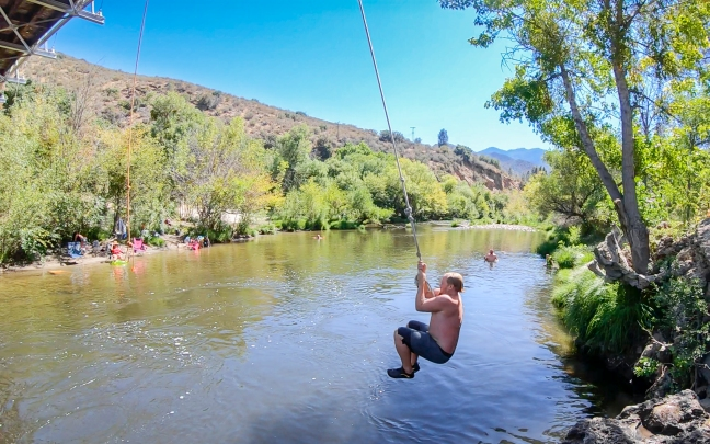 N on Kern Rope Swing